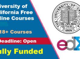University of California Free Online Courses 2021-22