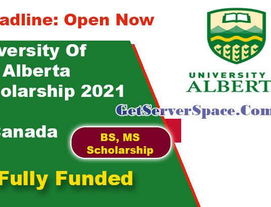 University Of Alberta Scholarship 2021 in Canada