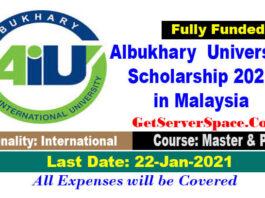 Albukhary International University Scholarship 2021 in Malaysia[Fully Funded]