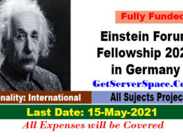 Einstein Forum Fellowship 2021in Germany For Foreigner [Fully Funded]