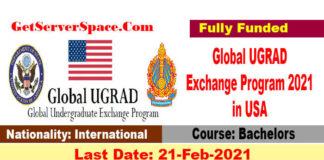 Global UGRAD Exchange Program 2021 in USA [Fully Funded]