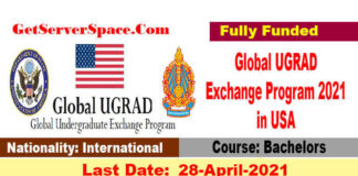 Global UGRAD Exchange Program 2022 in USA [Fully Funded]