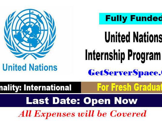 United Nations Internship Program 2021 [Fully Funded]