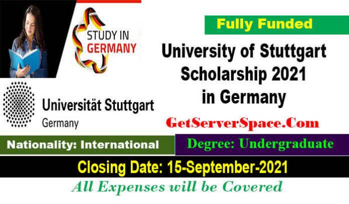 University of Stuttgart Undergraduate Scholarship 2022 in Germany