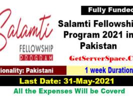 Salamti Fellowship Program 2021 in Pakistan [Fully Funded
