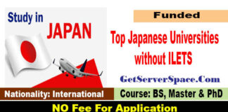 List of Top Japanese Universities without ILETS for International Students