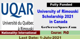University of Rimouski Scholarship 2021 in Canada [Fully Funded]
