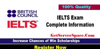 IELTS Exam Complete Information For International Scholarships