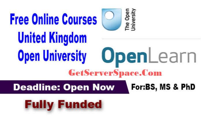 United Kingdom Open University Free Online Courses 2021
