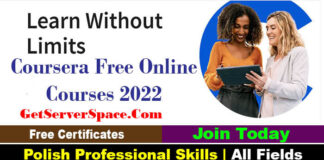 1000 Coursera Free Online Courses 2022 Certificates