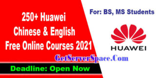 250+ Huawei Chinese & English Free Online Courses 2021