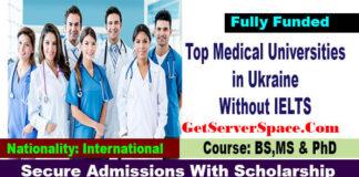List of Medical Universities in Ukraine Without IELTS