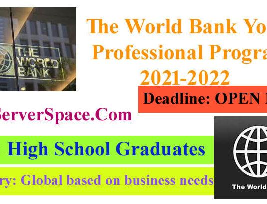 World Bank Junior Professional Associate (JPA) program 2021