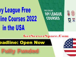 40000 Ivy League Free Online Courses 2022 in the USA