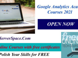 Google Analytics Academy Courses 2021 with Free Certificates
