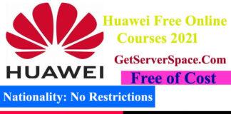 Huawei Organization Free Online Courses 2021