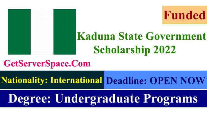 Kaduna State Government Funded Scholarship 2022
